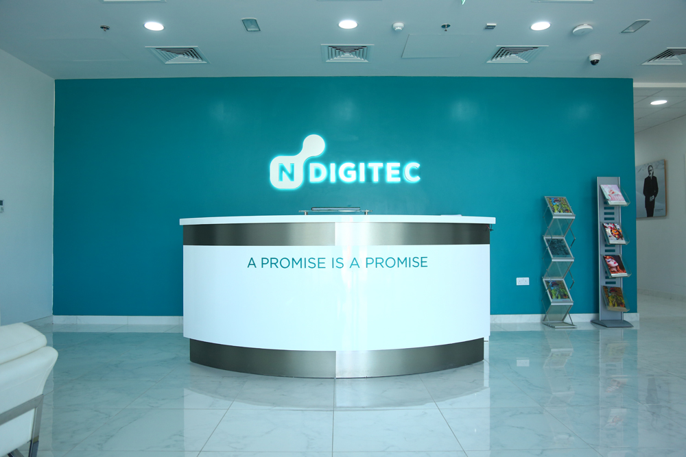 Office Building and Production Units on plot No.6854547 at Dubai Production City for M/s. N Digitec